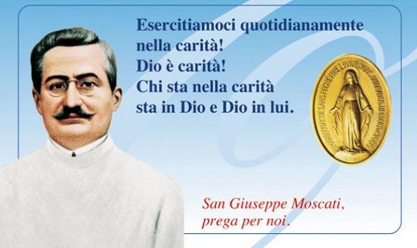 Supplica per ottenere una grazia da San Giuseppe Moscati