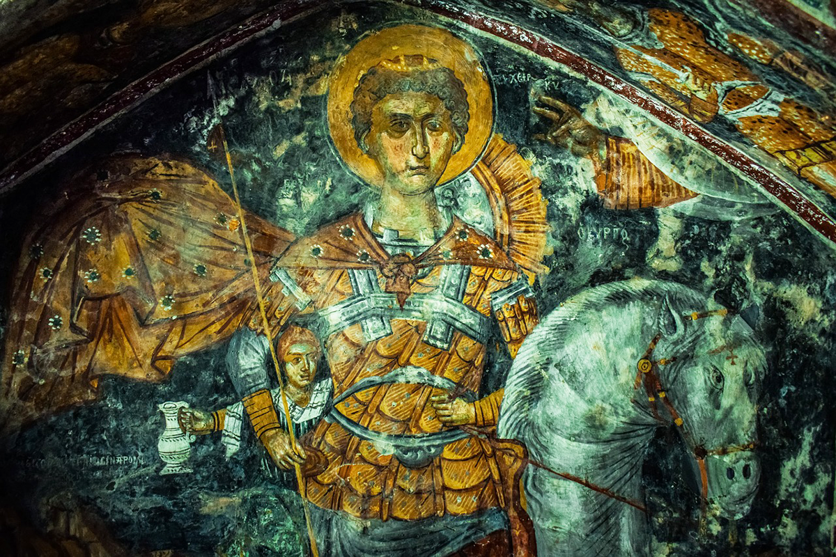 Supplica 'potente' a San Giorgio