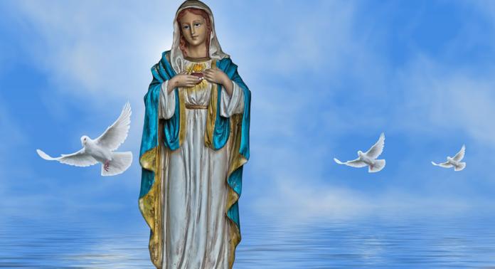 Preghiera alla Madonna dello Scoglio