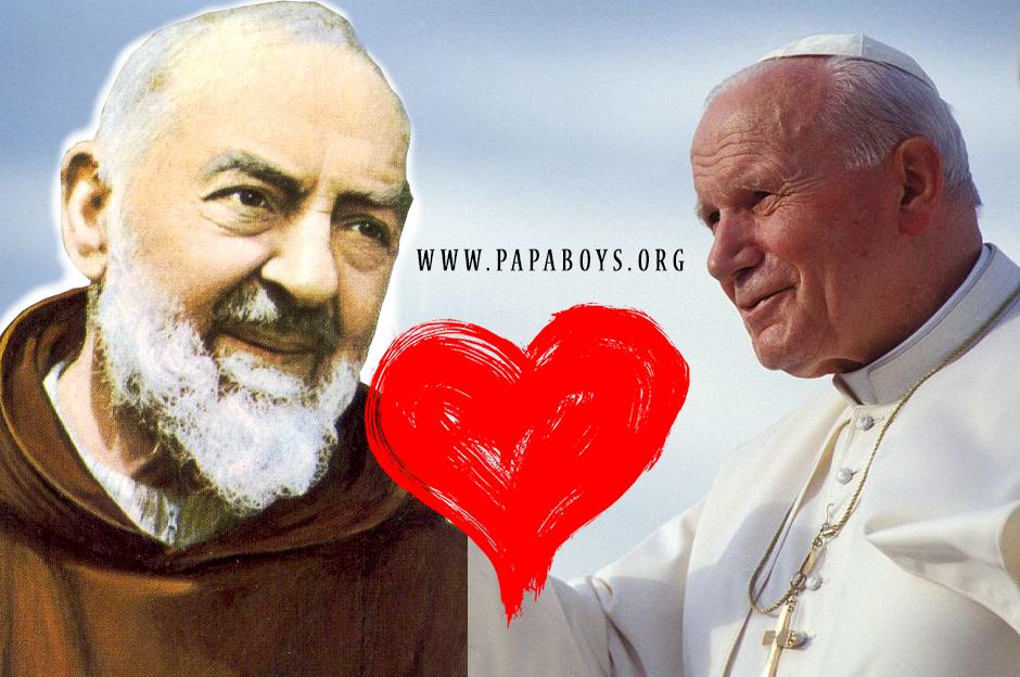 La devozione di Giovanni Paolo II nei confronti di Padre Pio