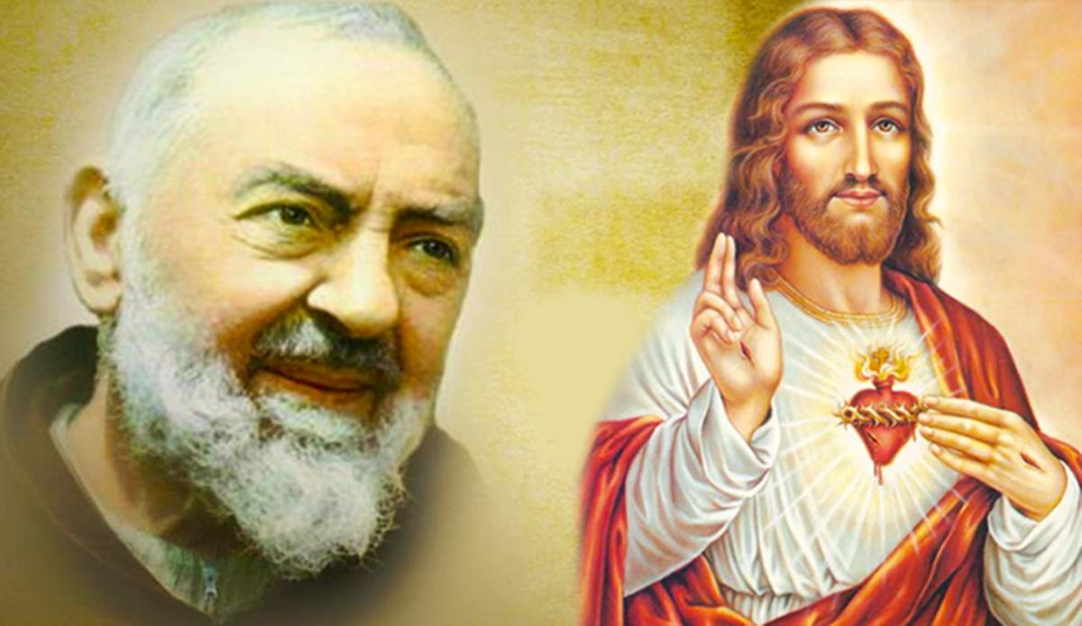 W Padre Pio, il santo delle stigmate!