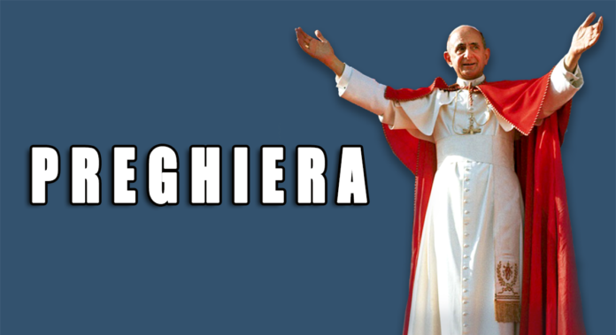 Chiedi una graziaa San Paolo VI, il papa davvero santo