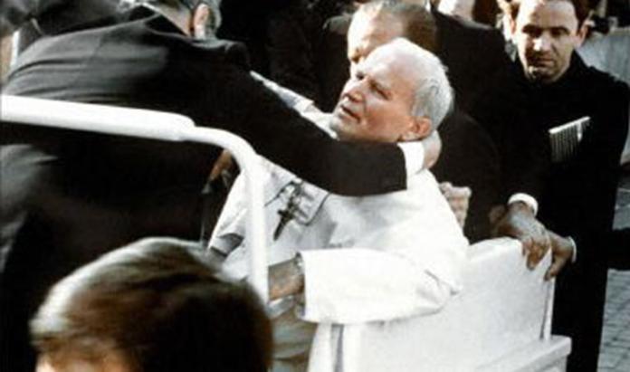 La Madonna di Fatima nell'attentato a Giovanni Paolo II