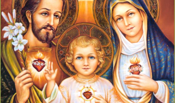 Litanie dei Tre Sacri Cuori (Gesù, Maria e Giuseppe)