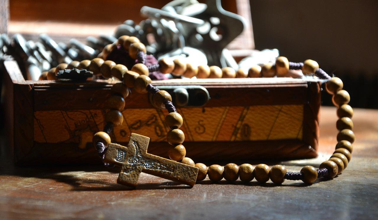 Il Santo Rosario comunica purezza