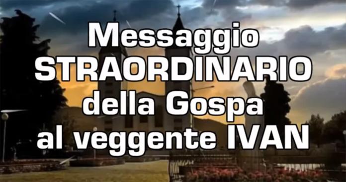 L'ultimo messaggio straordinario di Medjugorje