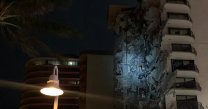 Miami: crolla palazzina di 12 piani. Corsa contro il tempo
