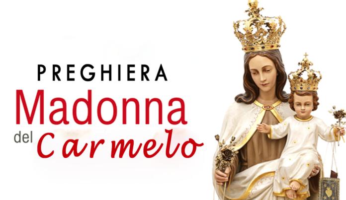 Preghiera alla Beata Vergine del Carmelo
