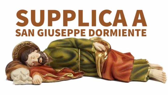 Supplica a San Giuseppe dormiente