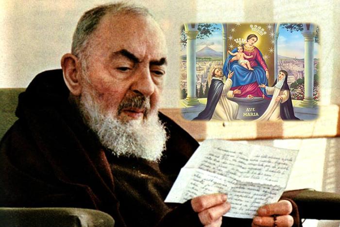 Supplica alla Vergine del Santo Rosario di Pompei in compagnia di Padre Pio