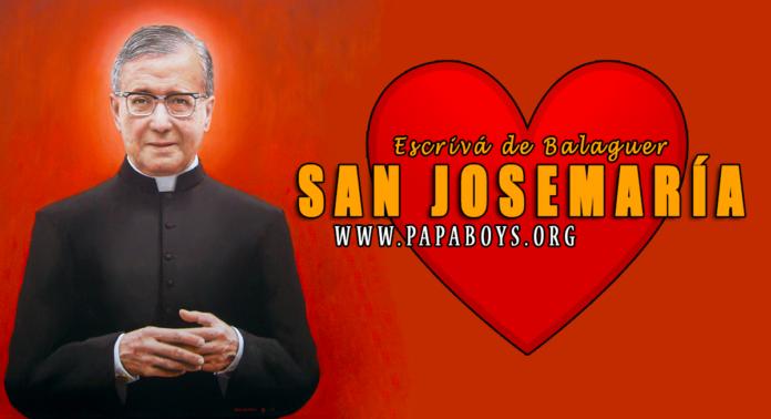 San Josemaria Escrivá de Balaguer