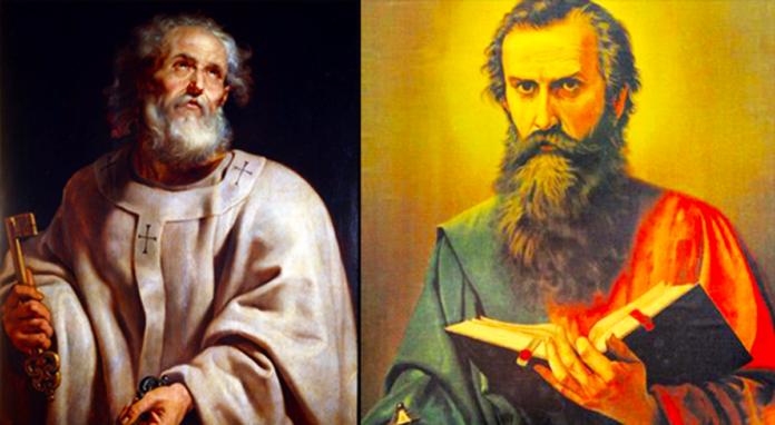 Preghiera ai Santi Pietro e Paolo
