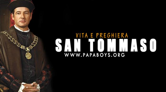 San Tommaso Moro: vita e preghiera