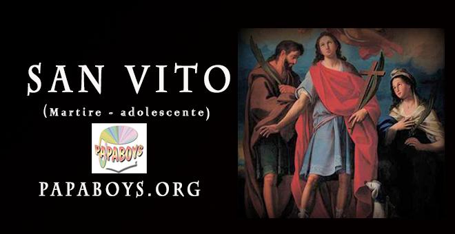 La preghiera a San Vito da recitare oggi 15 Giugno 2021