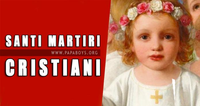 Santi Primi martiri della santa Chiesa di Roma