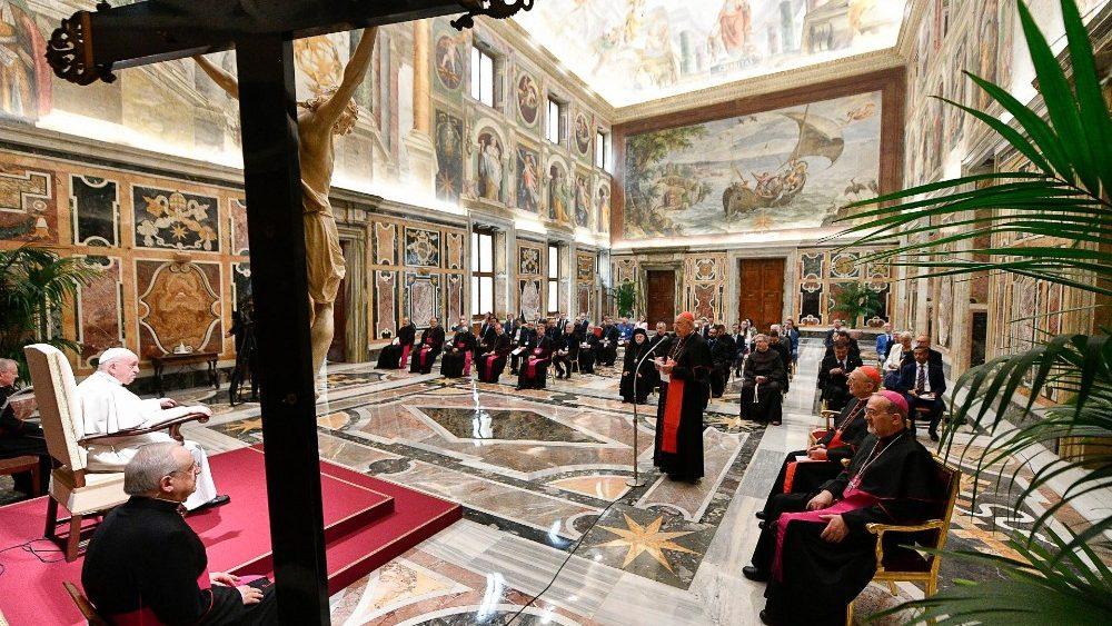 L'appello accorato di Papa Francesco per la Terra Santa