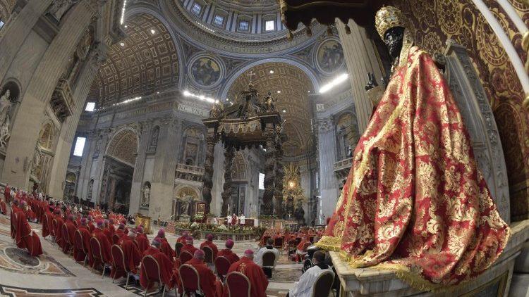 Messa Papa Francesco (Santi Pietro e Paolo)