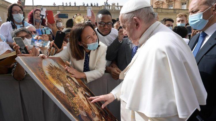 Papa Francesco: udienza generale del 23 Giugno 2021