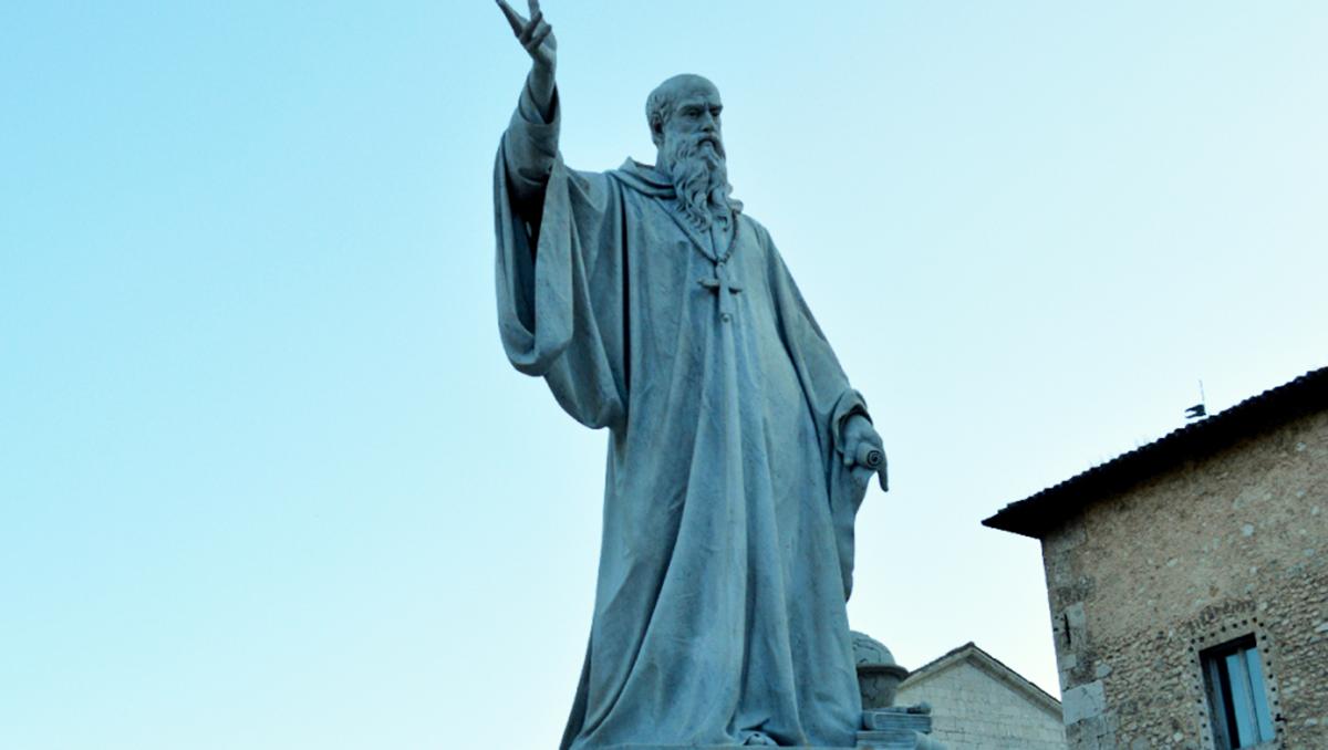 Supplica a San Benedetto da Norcia per una grazia