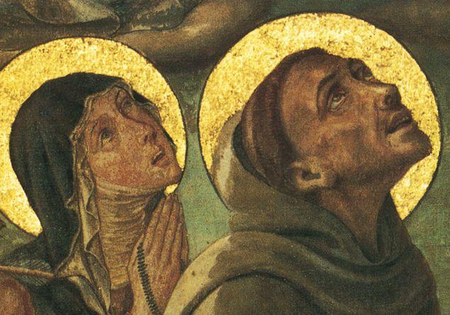 Preghiera a San Francesco e Santa Chiara