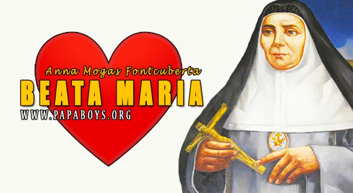 Beata Maria Anna Mogas Fontcuberta