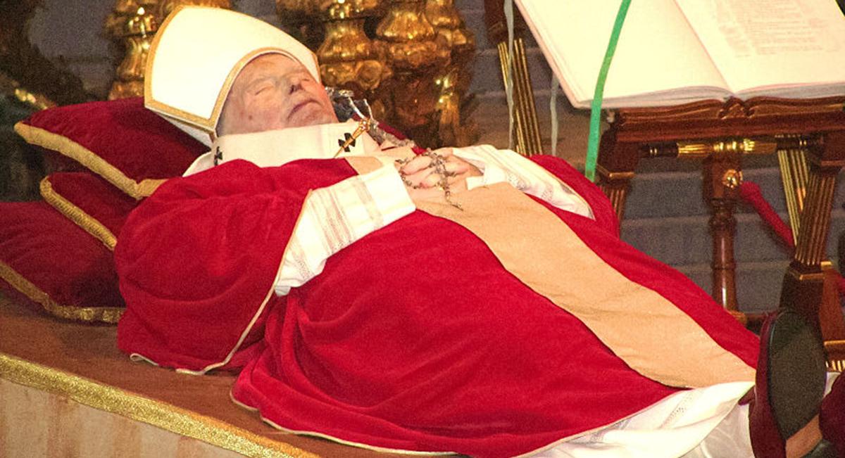 Giovanni Paolo II e lo scapolare