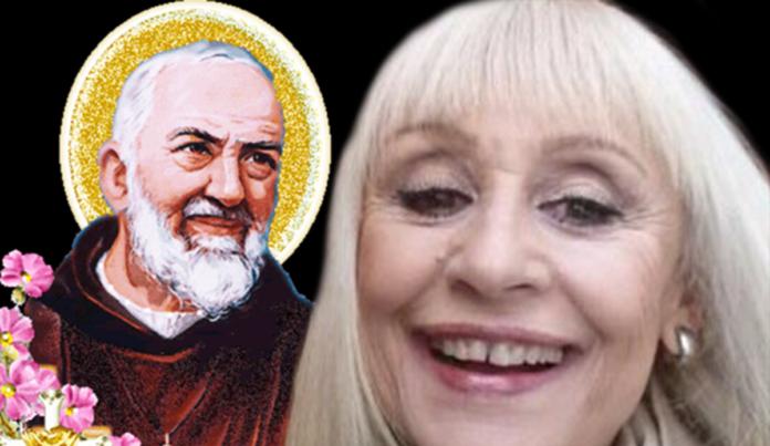 Il pensiero di Raffaella Carrà su Padre Pio da Pietrelcina
