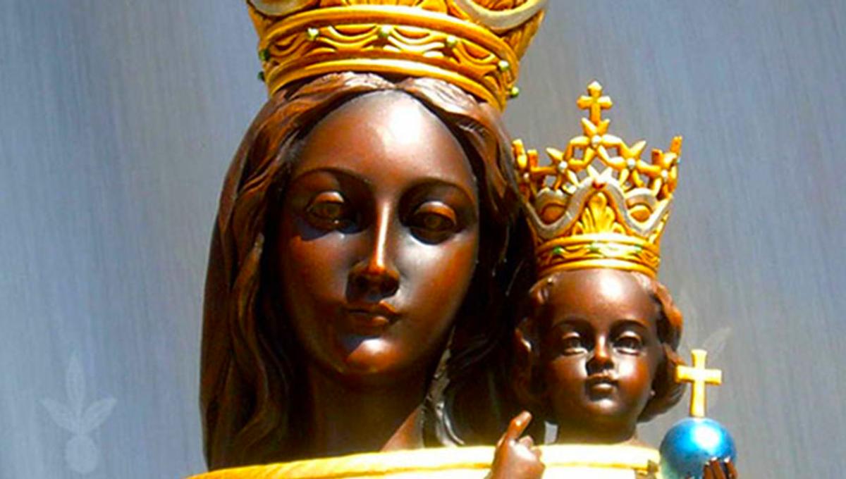 La statua della Madonna di Loreto è stata in Terra Santa