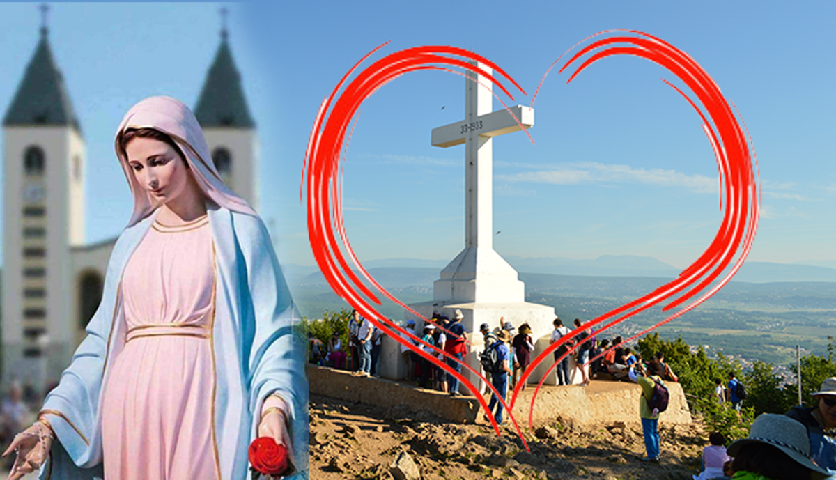La Madonna a Medjugorje ci invita alla conversione