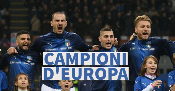 ITALIA CAMPIONE EUROPA 2021