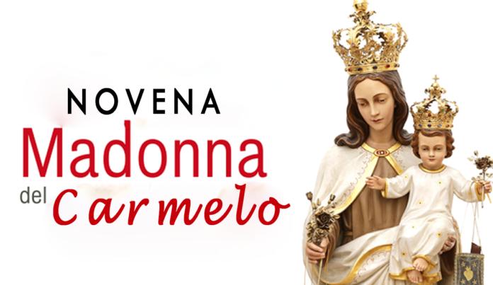 Novena di preghiera alla Madonna del Carmelo, 12 Luglio