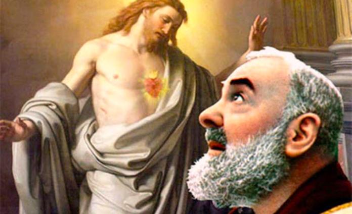 Padre Pio da Pietrelcina ci guida verso il Paradiso