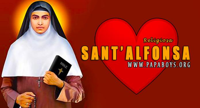 Sant'Alfonsa dell'Immacolata