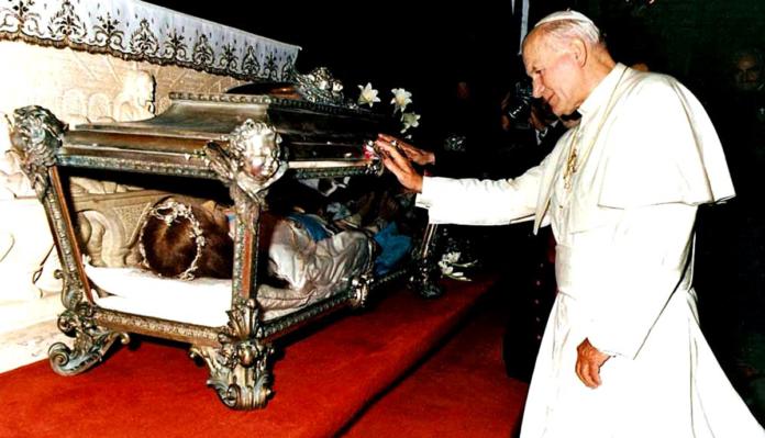 Giovanni Paolo II: il papa devoto a Santa Maria Goretti