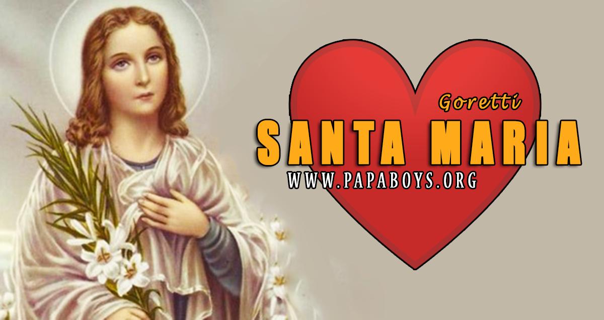 Preghiera a Santa Maria Goretti per chiedere favori