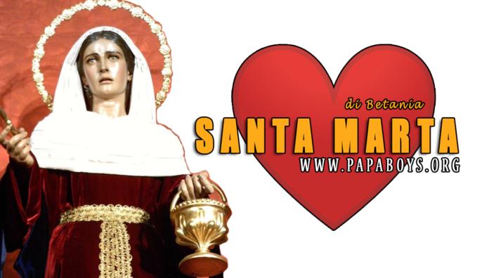 Supplica per invocare l'aiuto di Santa Marta di Betania
