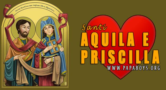 Santi Aquila e Priscilla, sposi: vita e preghiera