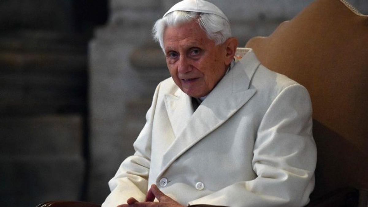 L'ultima 'potente' dichiarazione di Benedetto XVI