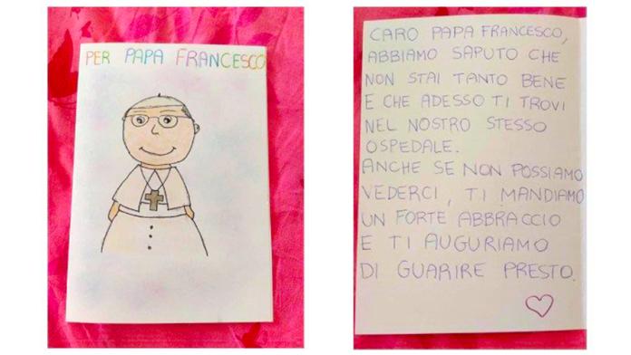 La lettera dei bambini a Papa Francesco