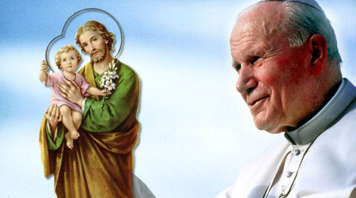 La sofferenza di Giovanni Paolo II