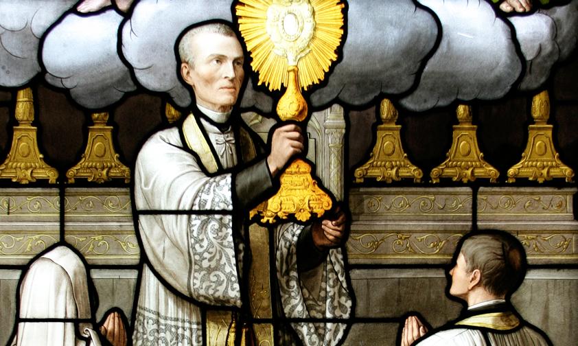 San Pietro Giuliano Eymard (www.notrehistoireavecmarie.com)