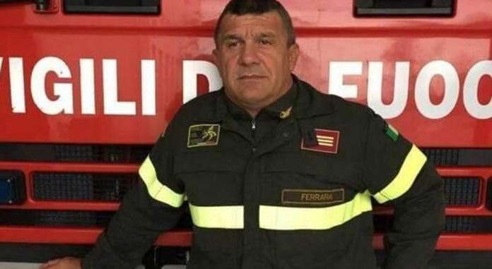 I Vigili del Fuoco piango la morte di Paolo Franzoso