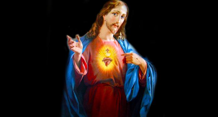 Recita la bellissima preghiera al Sacro Cuore di Gesù