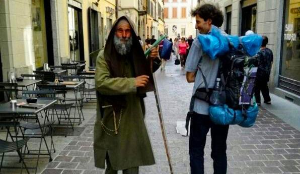 Fratel Biagio Conte si è ritirato di nuovo sulle montagne