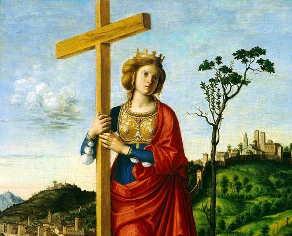 Santa Elena, madre dell'imperatore Costantino, si adoperò con singolare impegno nell'assistenza ai poveri; fu pellegrina anche a Gerusalemme.