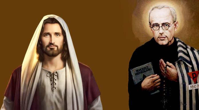Preghiera a San Massimiliano Maria Kolbe
