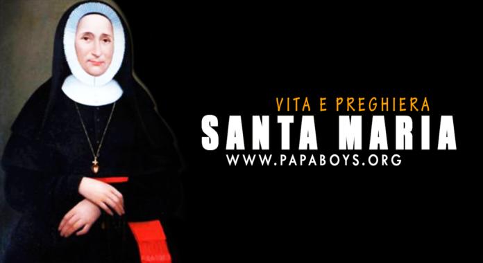 Santa Maria De Mattias, fondatrice: vita e preghiera