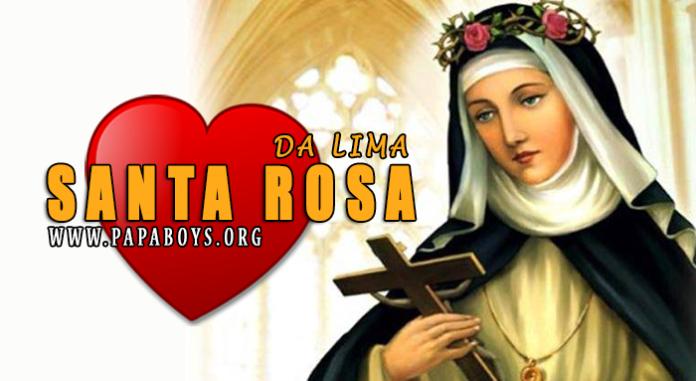 Santa Rosa da Lima, vergine e mistica