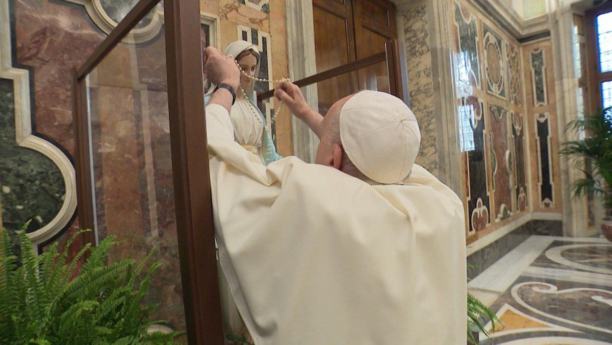 La supplica alla Madonna della Medaglia Miracolosa