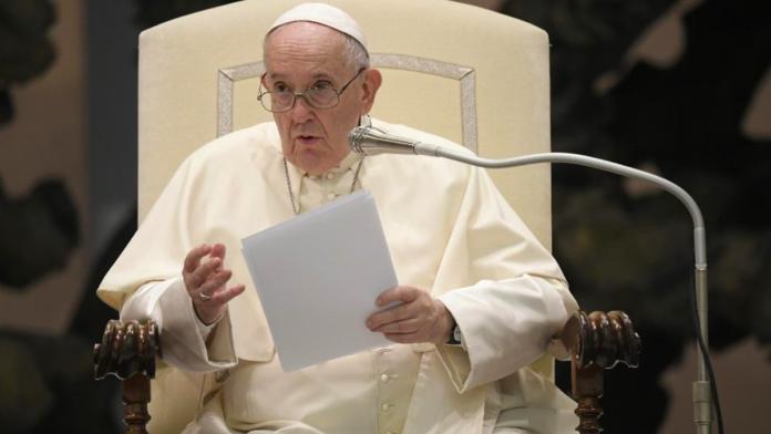 Udienza di Papa Francesco